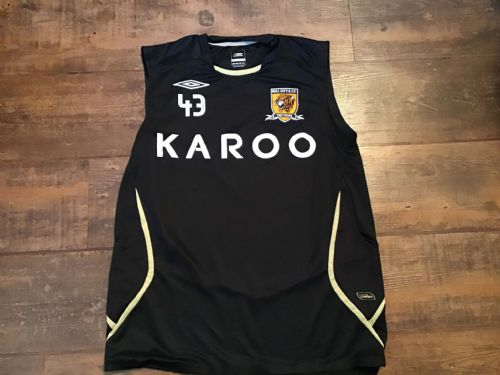 2007 2008 Hull City No 43 Football Training Shirt Large